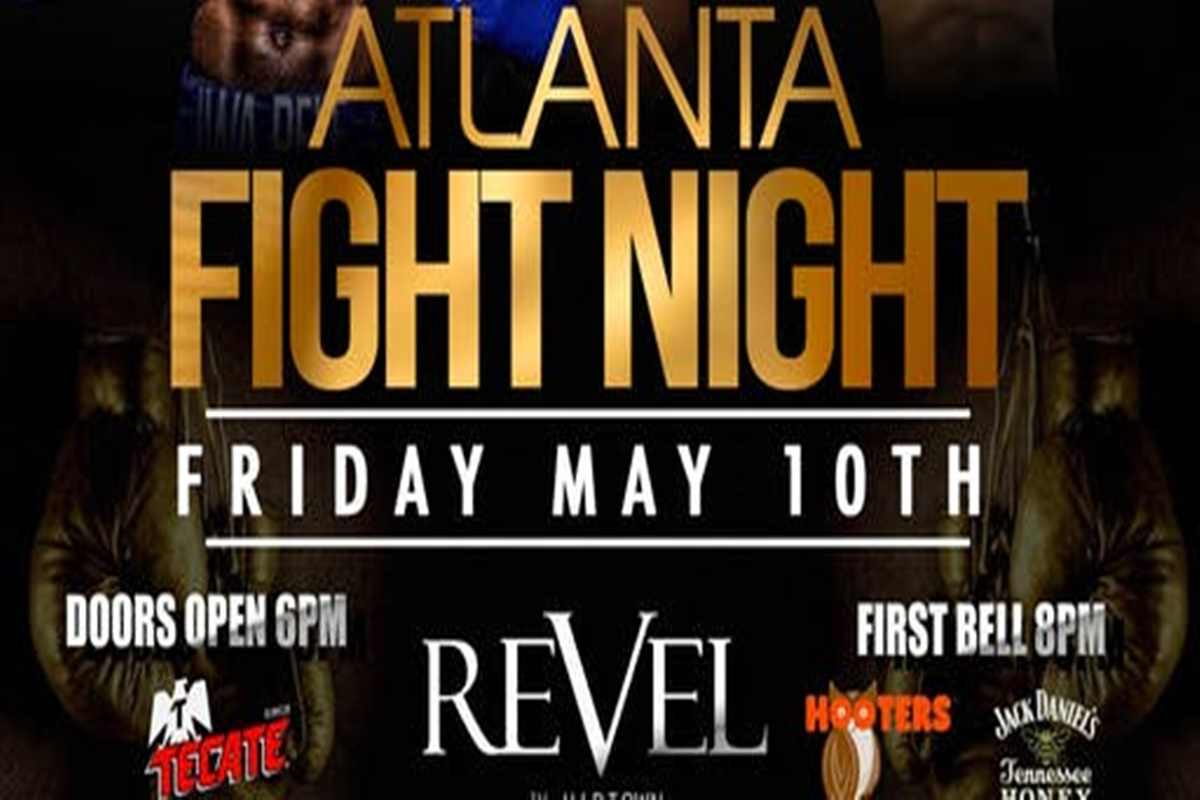 Atlanta Club Revel hosts world boxing association title fight Friday May 10
