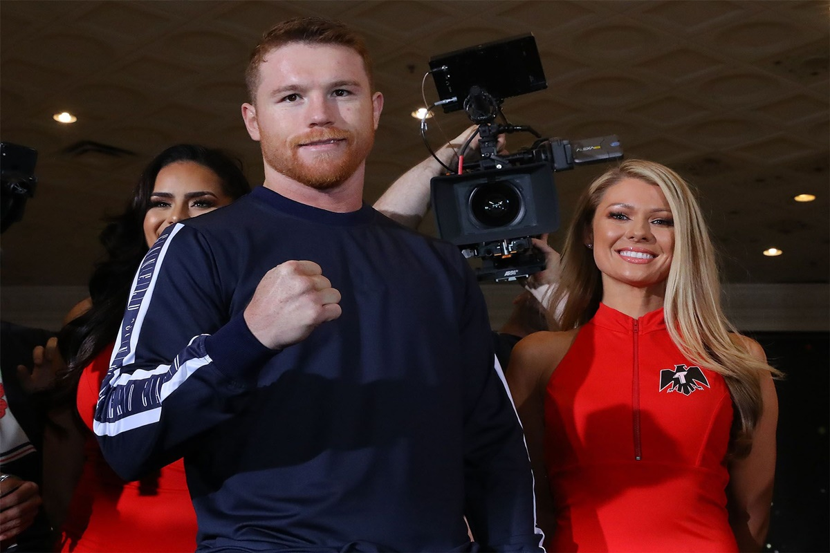 Canelo Alvarez and Danny Jacobs are in Las Vegas and ready for big fight this Saturday