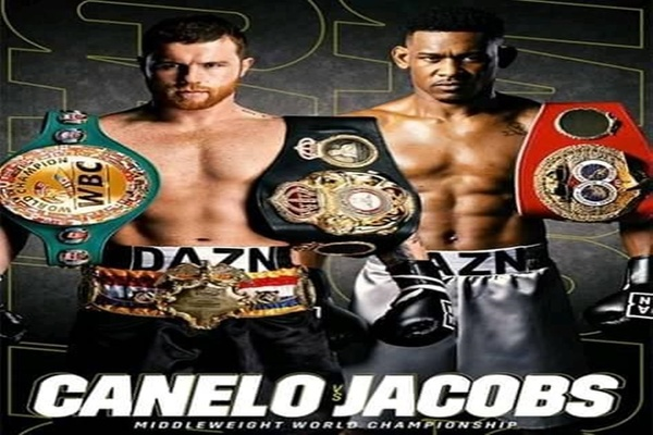Canelo Alvarez and Danny Jacobs weigh-in, tempers flare