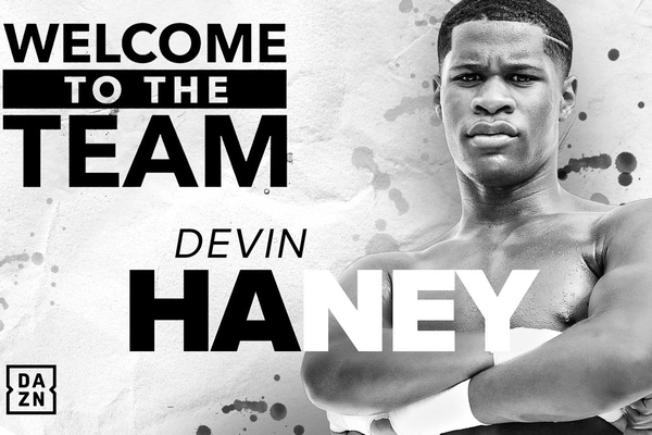 Devin Haney joins Matchroom Boxing USA, next opponent revealed