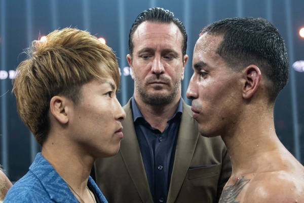 Naoya Inoue in Glasgow and wants to knock Emanuel Rodriguez out