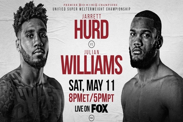 Underdog Julian Williams knocks Jarrett Hurd down, wins world titles
