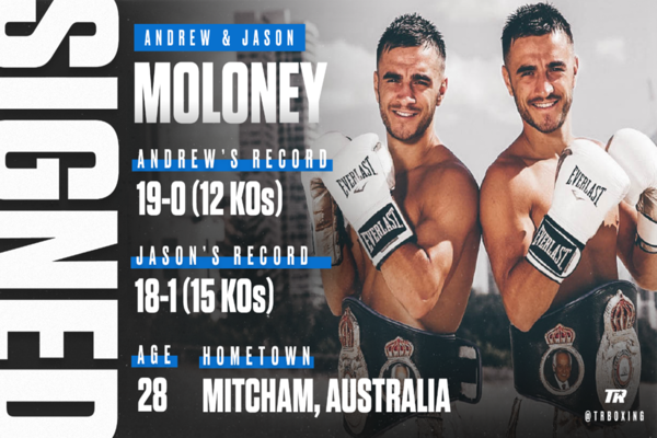 Aussie contenders Jason and Andrew Moloney signed by Top Rank