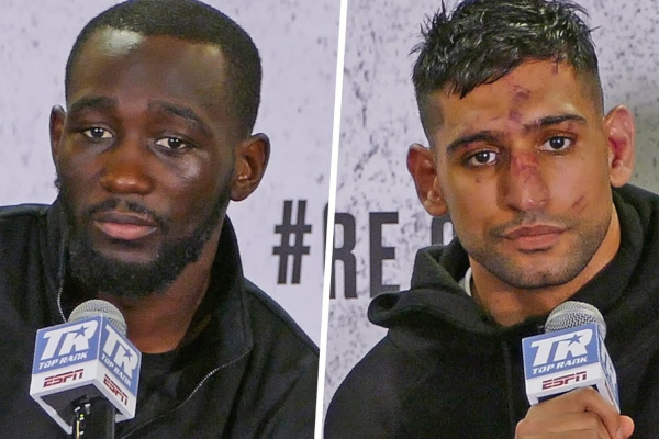 WATCH: Terence Crawford vs Amir Khan post-fight press conference