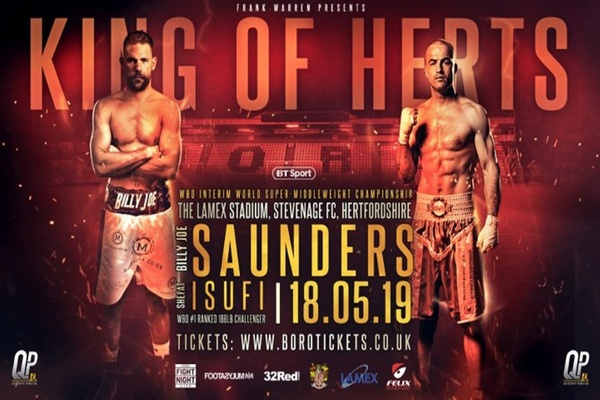 The return of Billy Joe Saunders