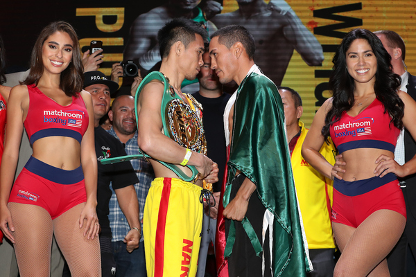 Srisaket Sor Rungvisai vs Juan Francisco Estrada II weigh-in weights and running order