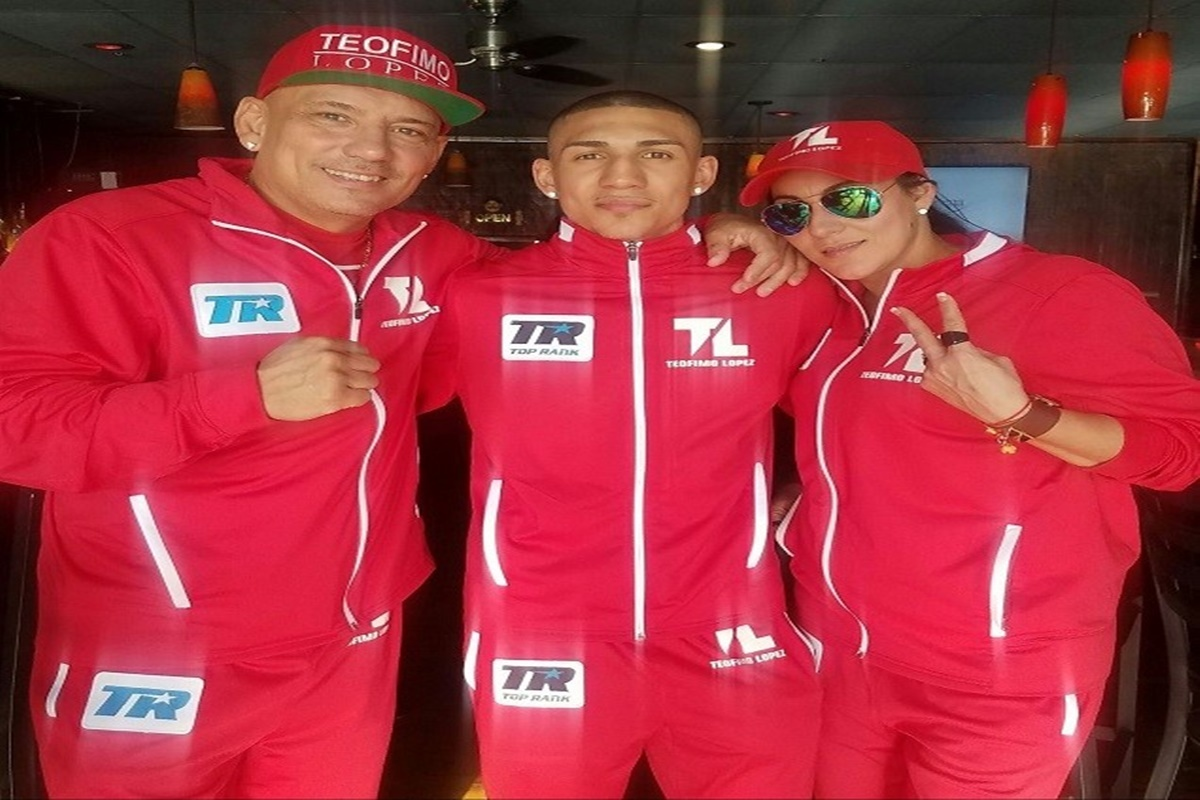 TLopez and family photo by Top Rank