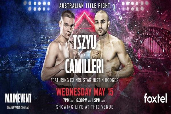 Joel Camilleri fighting for respect against big favorite Tim Tszyu