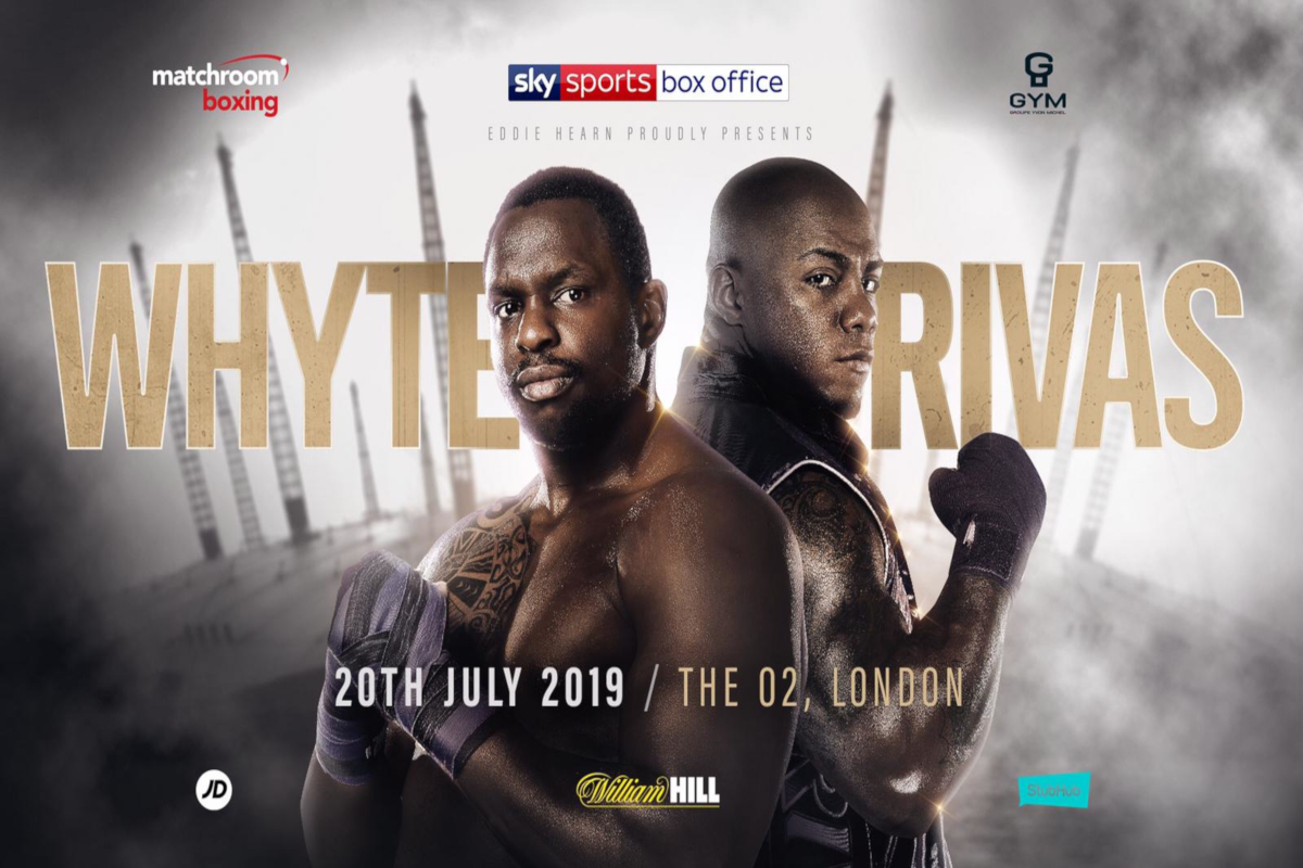 Dillian Whyte Battle Oscar Rivas For No.1 Spot