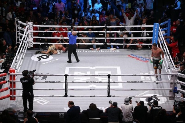 """Next sure thing"" Devin Haney scores devastating knockout"