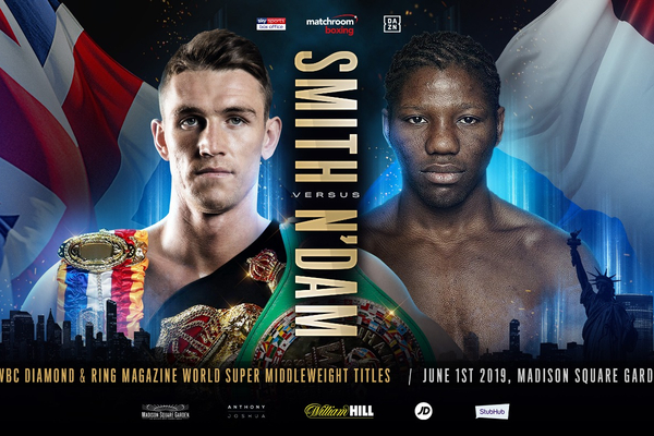 Callum Smith defends title for first time against Hassan N'Dam June 1