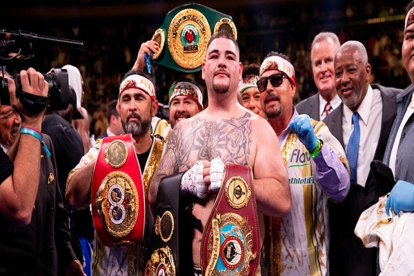 Andy Ruiz Jr. shocks everyone but himself on Saturday night in New York City