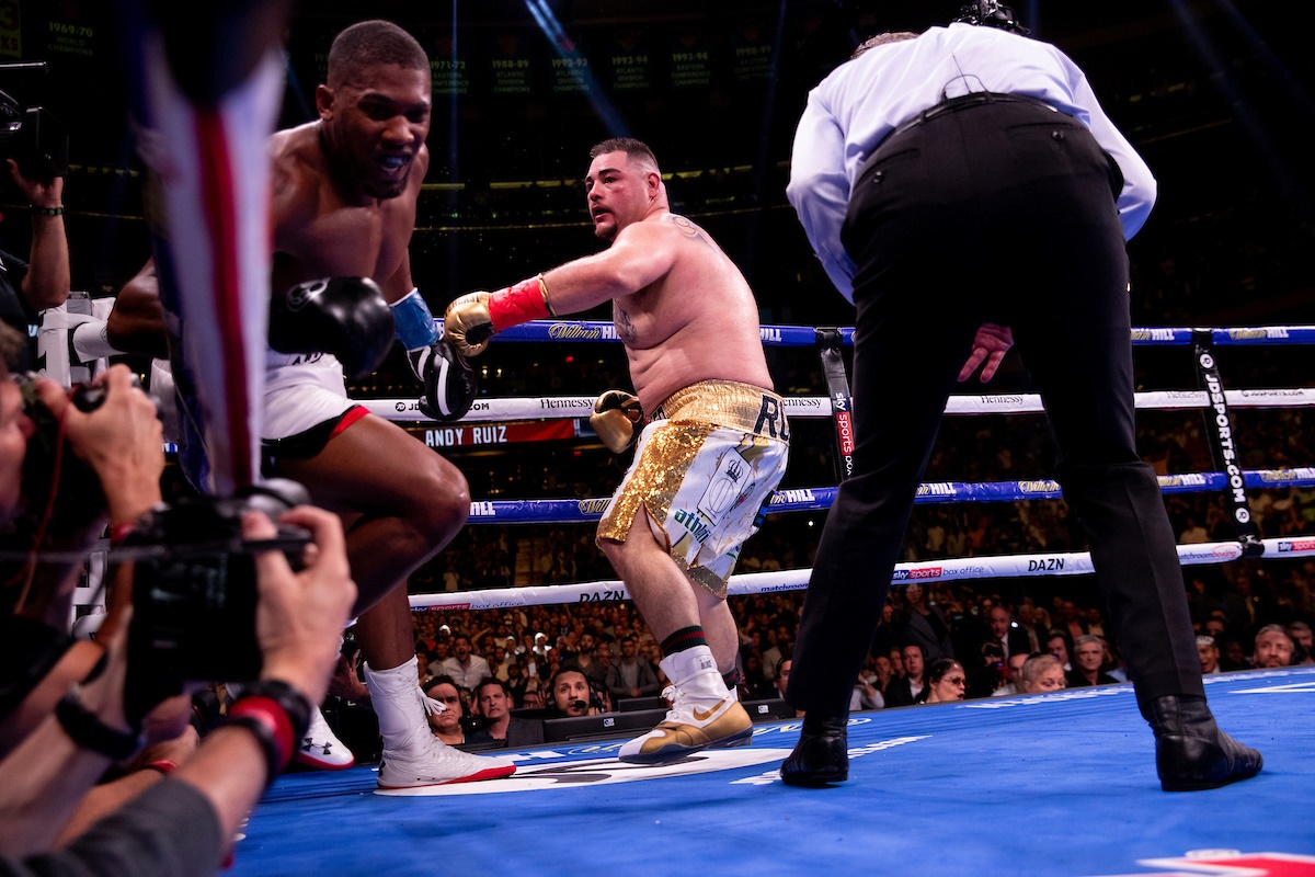 Andy Ruiz Jr's chin and recuperative powers key to upset of Anthony Joshua