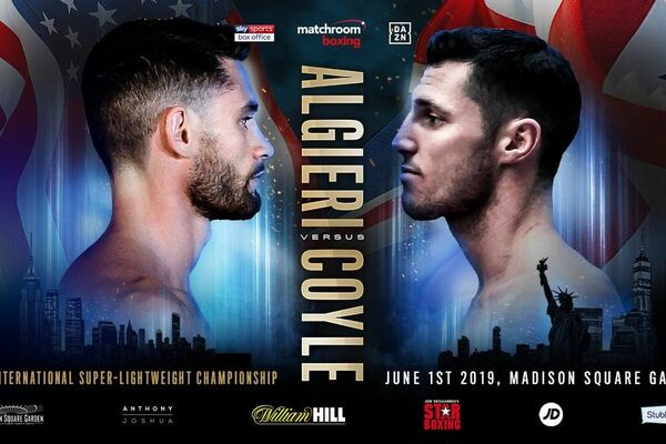 Chris Algieri stops Tommy Coyle in action packed super lightweight contest