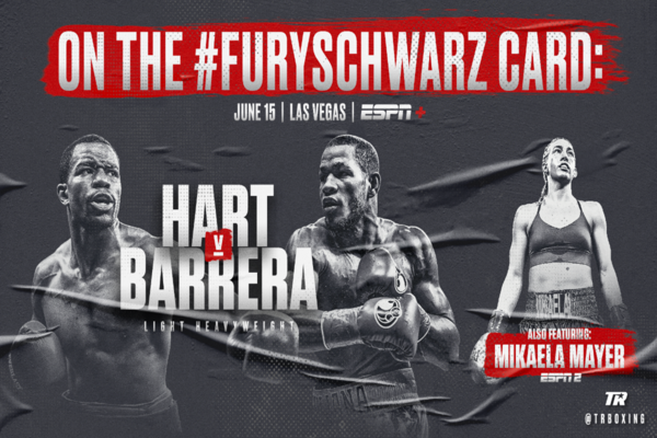 Jessie Hart fighting Sullivan Barrera June 15