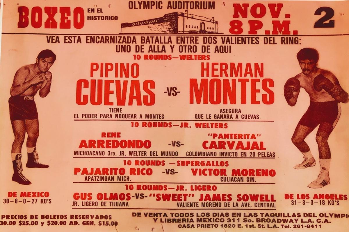 Herman Montes vs. Pipino Cuevas