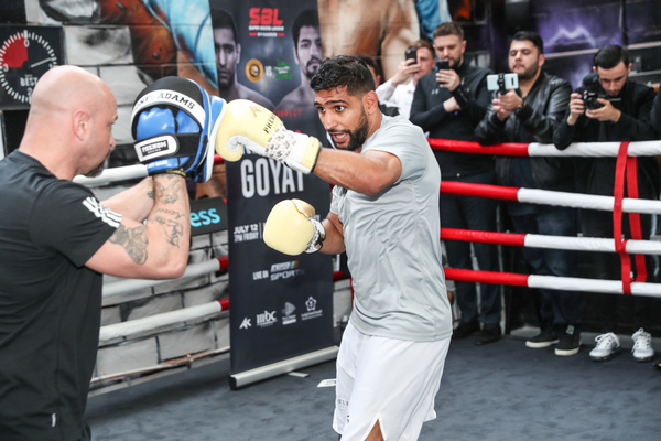 Amir Khan next fight now Billy Dib after Neeraj Goyat injury withdrawal