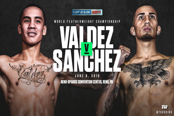 WBO featherweight champion Oscar Valdez rolls into Reno June 8th to continue his reign