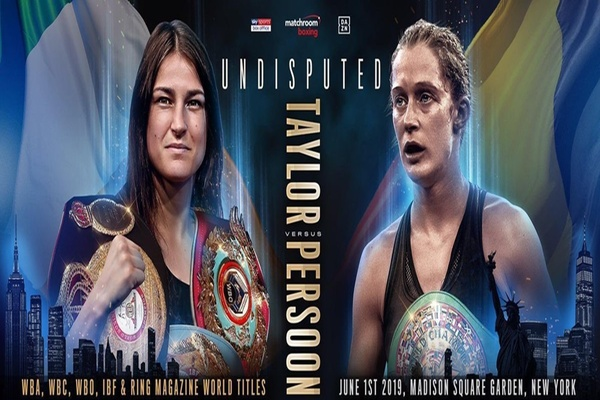 Katie Taylor unifies lightweight division, wins controversial decison over Delfine Persoon