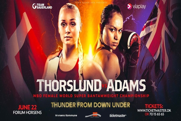 Dina Thorslund confident she'll send April Adams home without title