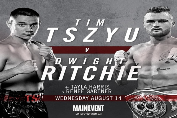 Rising Tim Tszyu steps up against Dwight Ritchie in world title eliminator