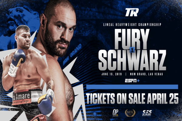 Entertaining Tyson Fury invades Sin City to fight unknown Tom Schwarz