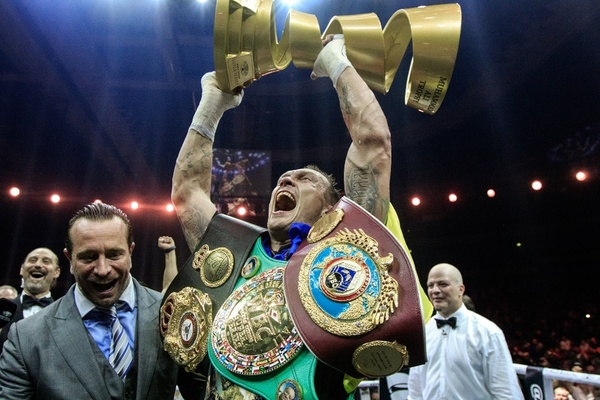 Oleksandr Usyk hoping World Boxing Super Series has heavyweight tournament