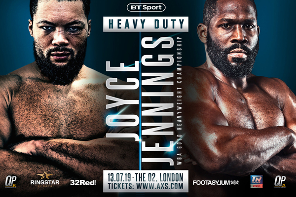Joe Joyce next fight confirmed as former world title challenger Bryant Jennings