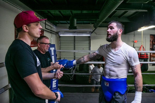 Undefeated super middleweight champion Caleb Plant discusses upcoming fight with Mike Lee