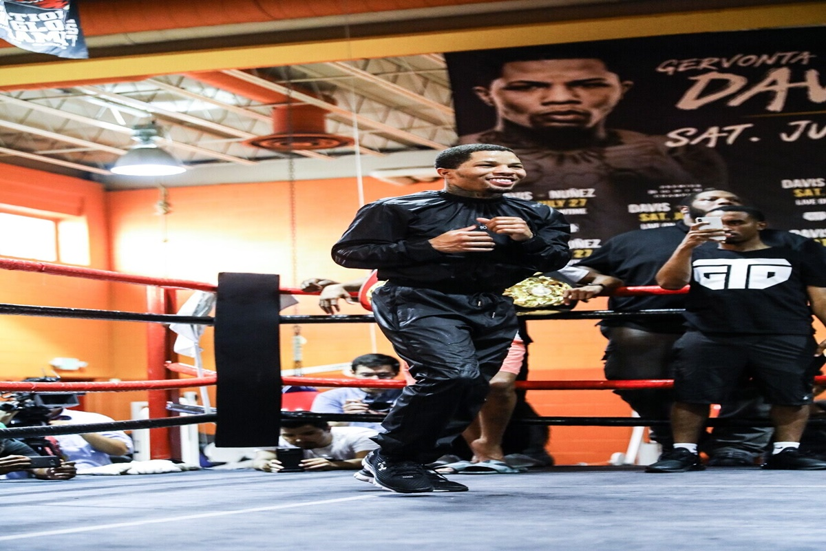 Gervonta Davis talks hometown fight July 27