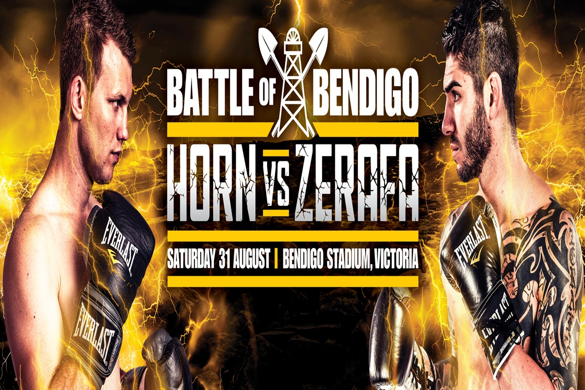 Former welterweight champion Jeff Horn returns to the ring, but upcoming opponent Michael Zerafa is not impressed