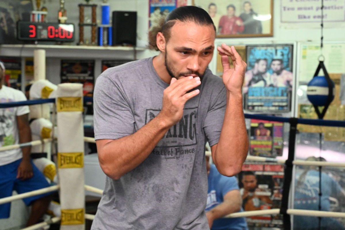 Keith Thurman is ready to show the world that he's a better fighter than Manny Pacquiao