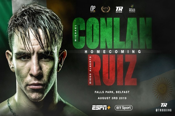 Exciting Michael Conlan returns home to fight in Belfast