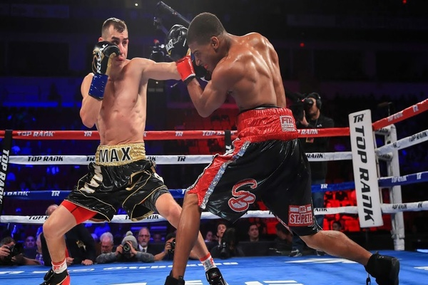 'Mad Max' Dadashev on fast track to world title shot