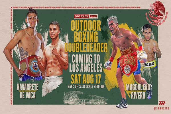 Jessie Magdaleno vs. Rafael Rivera added to Banc of California card August 17
