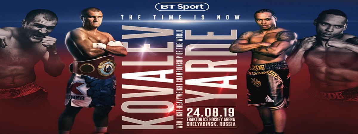 Old against untested: Sergey Kovalev fights Anthony Yarde this Saturday