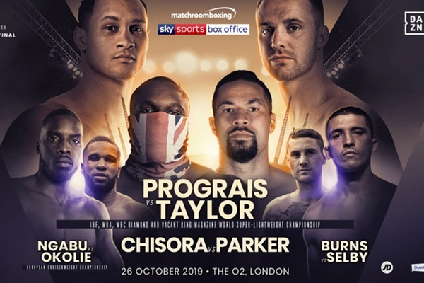 Regis Prograis and Josh Taylor fight for all the marbles October 26 in London