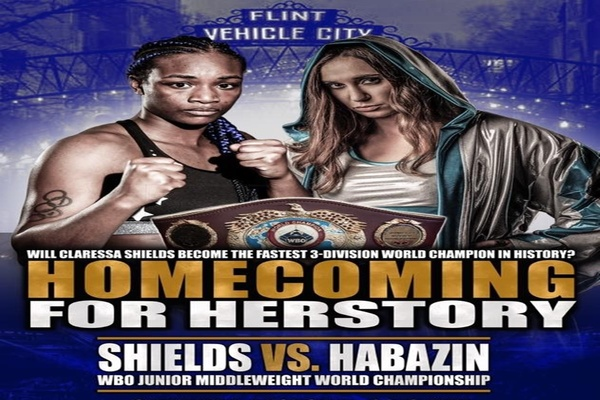 Claressa Shields vs. Ivana Habazin a go for Oct.5
