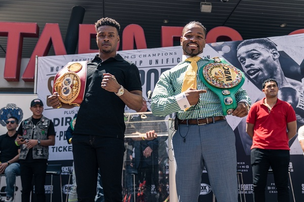Errol Spence Jr. and Shawn Porter talk Sept. 28 fight