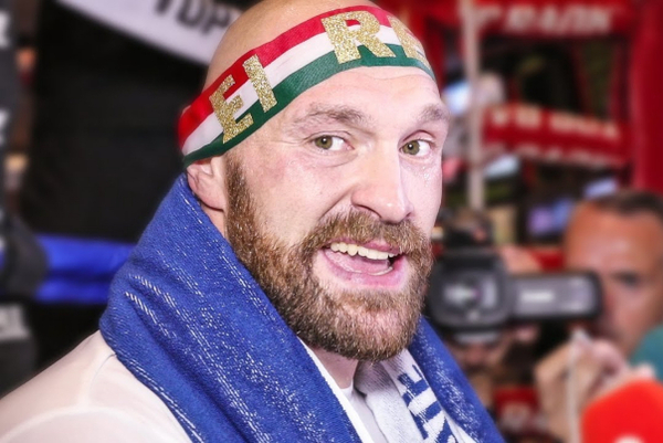 Next six months see Tyson Fury in a flurry of action
