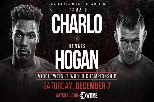 Jermall Charlo fights Dennis Hogan Dec.7