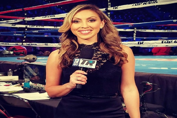 Top Rank makes it official for Crystina Poncher, one of boxing's best behind the mic