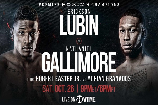 Erikson Lubin and Nathaniel Gallimore now headlining October 26 event