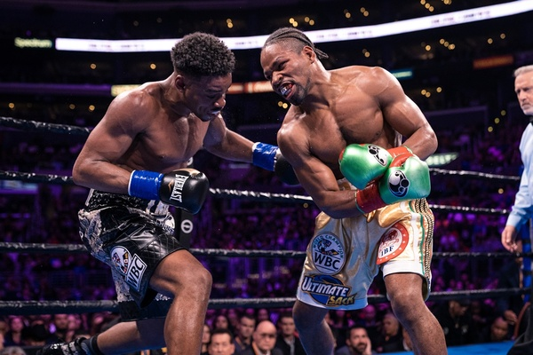 Errol Spence Jr. - Shawn Porter undercard results Staples Center Los Angeles