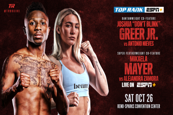 Joshua Greer, Mikraela Mayer fighting October 26