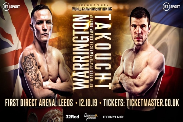 Josh Warrington vs. Sofiane Takoucht 10-12-19