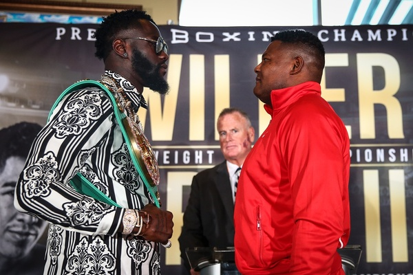 Rematch time: Deontay Wilder and Luis Ortiz battle again November 23