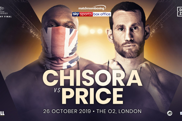 Dereck Chisora vs David Price confirmed for big ppv show