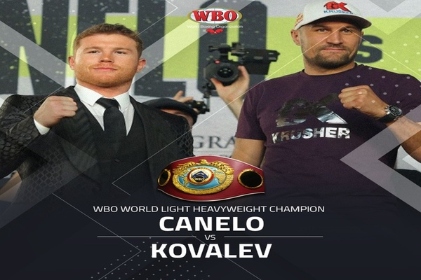 Canelo Alvarez knocks out Sergey Kovalev