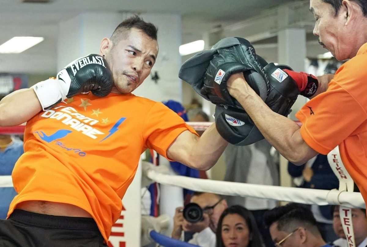 Donaire fights a monster.jpg